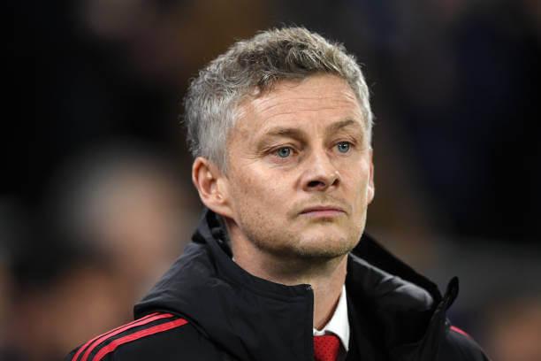 Manchester United head coach Ole Gunnar Solskjaer