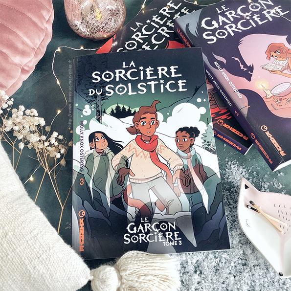 Bd jeunesse : La sorcière du solstice - Le garçon sorcière t3