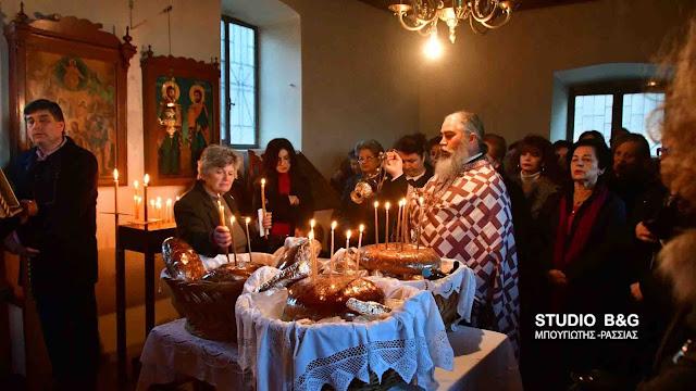 Πανηγυρικός εσπερινός για τον Άγιο Ελευθέριο στο Ναύπλιο