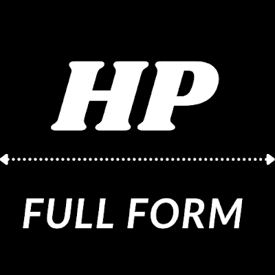HP FULL FORM IN COMPUTER, FULL FORM OF HP