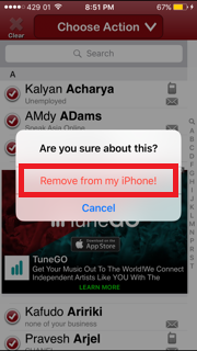 By default there is no way to remove multiple contacts at once from iPhone - iPad on any iOS version like iOS 10, iOS 9 and iOS 8 so it's being difficult to delete contacts from iPhone at once
