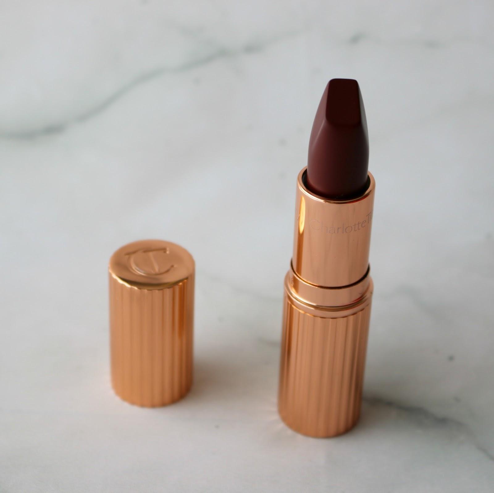 charlotte tilbury matte revolution legendary queen lipstick matte revolution opium noir lipstick