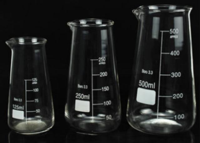 Cara menggunakan gelas ukur