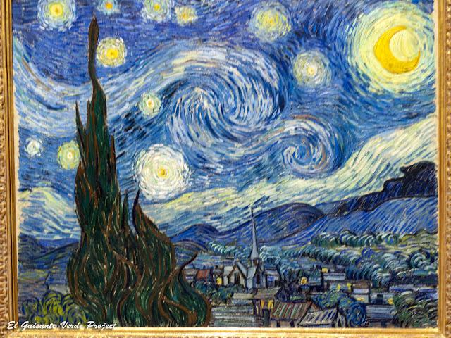 Van Gogh, La Noche Estrellada - MOMA, Nueva York por El Guisante Verde Project