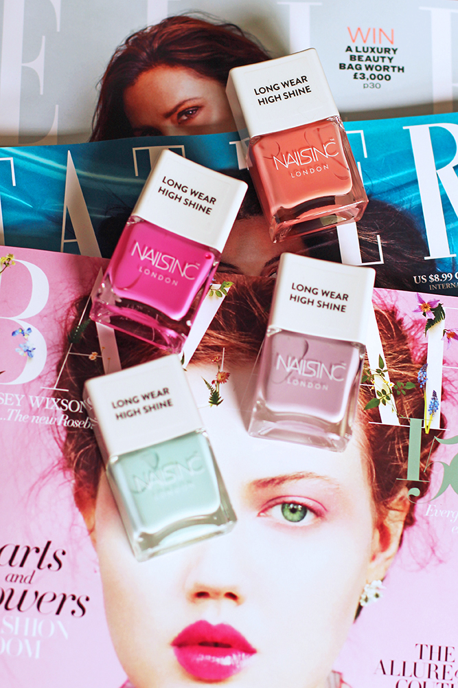 Nails Inc Neon Pastel nail varnishes - UK beauty blog