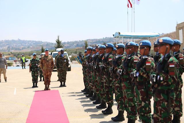 Force Commander UNIFIL Bangga Dengan Kinerja Prajurit Indobatt di Lebanon