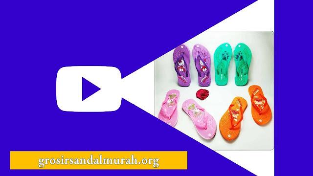 Grosirsandalmurah.org - Sandal Wanita - Hellokity Press Wanita