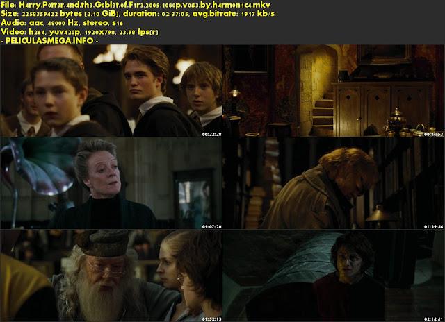 Descargar Harry Potter and the Goblet of Fire Subtitulado por MEGA.