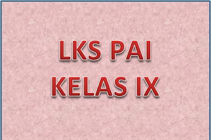 DOWNLOAD LKS PAI SMP KELAS IX