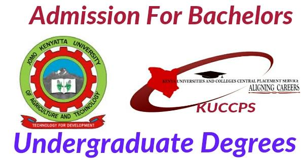 Bachelor's Degrees at KUCCPS for JKUAT university