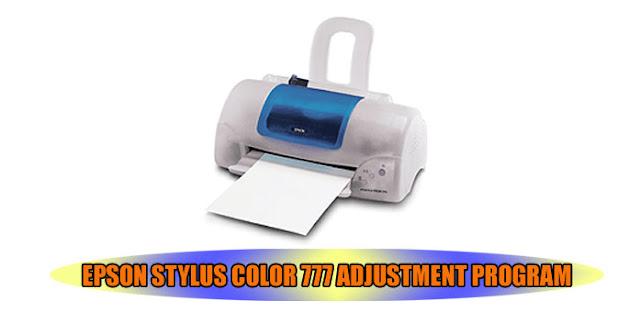 Epson Stylus Color 777 Printer Adjustment Program