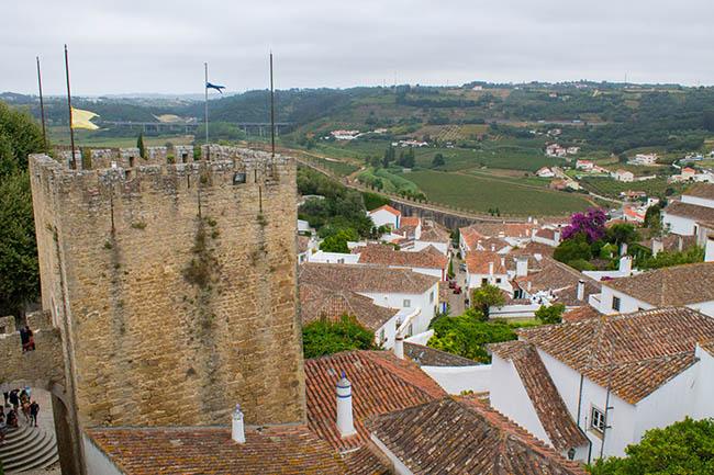"""Tem Na Web - Conhecendo Portugal: Vila e Castelo de Ã""""bidos"""