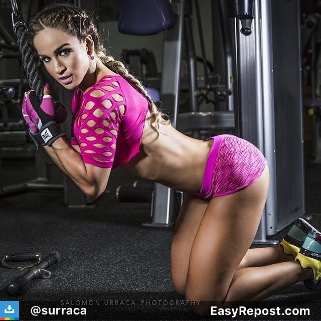 Michelle Medina is a beautiful Venezuelan fitness