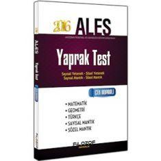 Filozof Yayıncılık ALES Yaprak Test (2016)