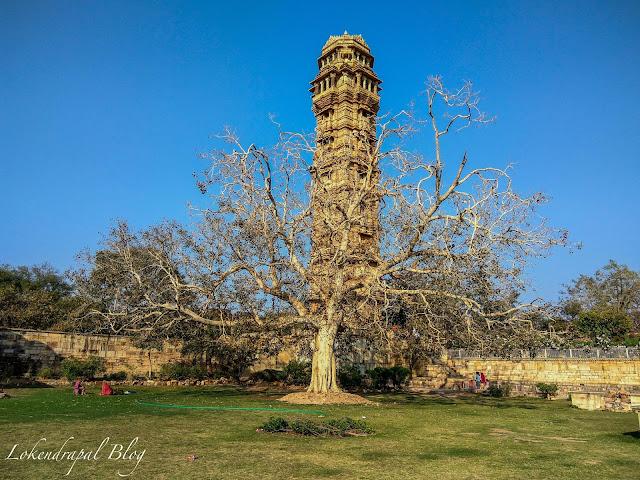 Garden Near Vijay Stambha, Chittorgarh