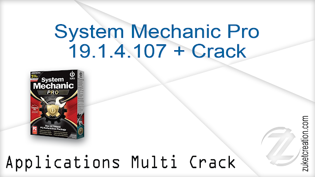 System Mechanic Pro 19.1.4.107 + Crack