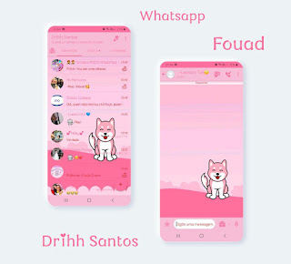 Alone Dog Theme For YOWhatsApp & Fouad WhatsApp By Driih Santos