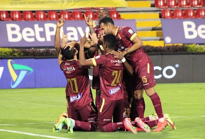 Con autoridad: DEPORTES TOLIMA, con nómina mixta, eliminó a La Equidad y es semifinalista de la Copa BetPlay 2021