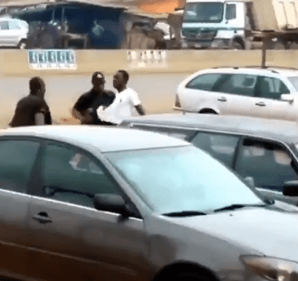 Video: Horrible moment Police shoot down unarmed man suspected of being a robber in Edo