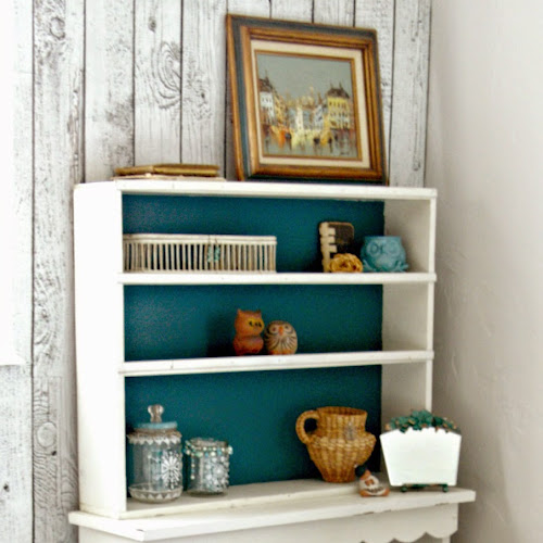 Master Bedroom Redo - A Pieced Together Hutch