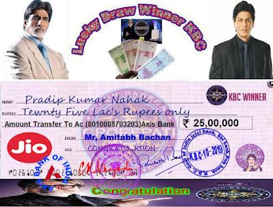 kbc winner pradip kumar win 25 lakhs inr only