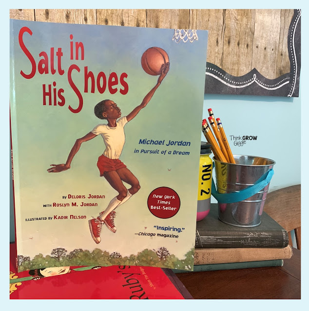 salt in his shoes picture book activity