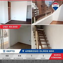 Departamento 1 dormitorio Ambrosio Olmos