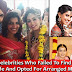 6 Bollywood celebrities went for an arranged marriage after failed love affairs