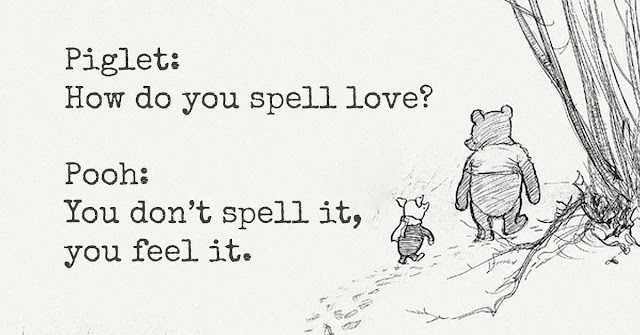 Piglet and Pooh love