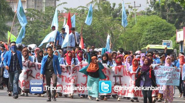 Mahasiswa Universitas Islam Riau Nyatakan Siap Kawal Kedatangan Habib Rizieq Shihab ke Riau