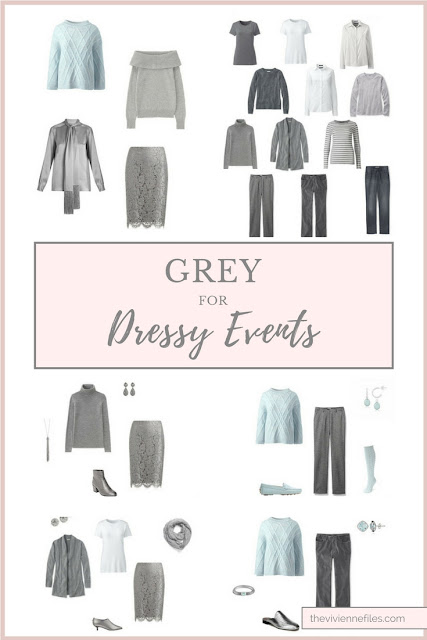 Can I Wear Grey for Dressy Events? Heavens YES!