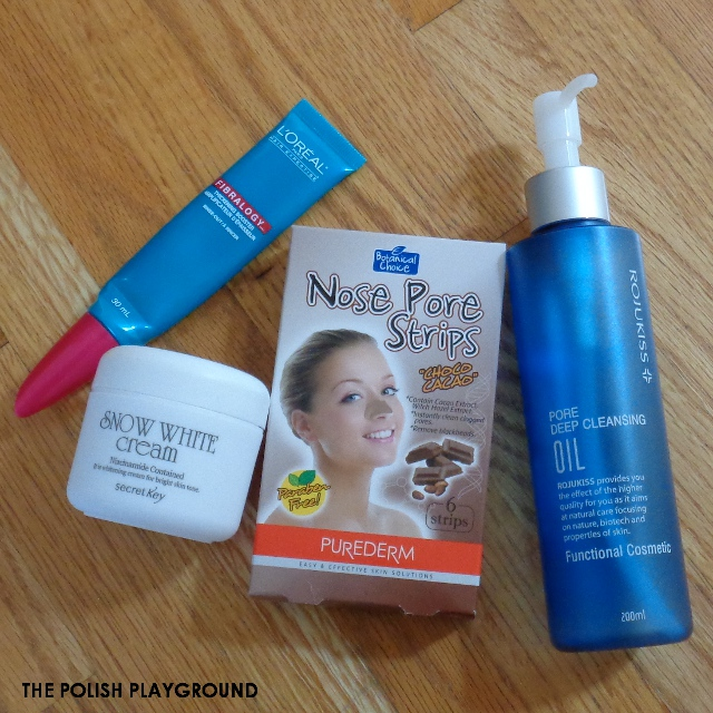 March 2016 Product Empties