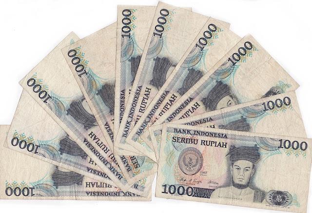uang kertas indonesia 1000 rupiah sisingamaraja