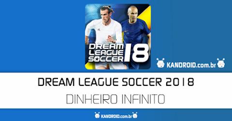 Dream League Soccer 2018 v5.062  Apk + Data Mod [Dinheiro]
