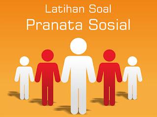 Ilmu Hexa, Gambar Latihan Soal Sosiologi, Kelas 12, Bab Pranata Sosial, Rahman Hilmy Nugroho, Hexa Corp, Info Hexa