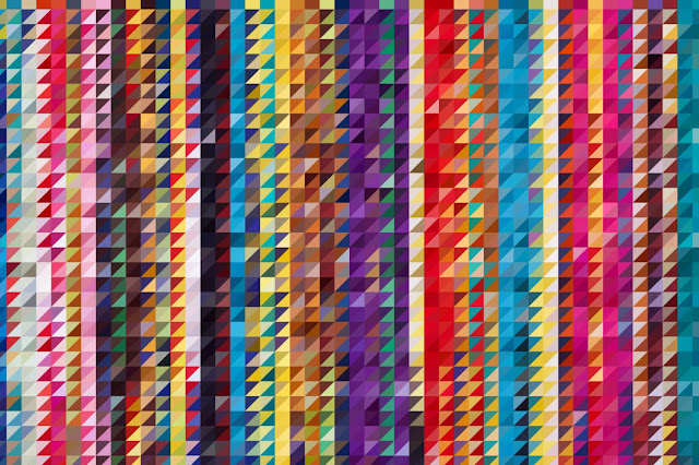 pixelated, images, Bright Stripes, design