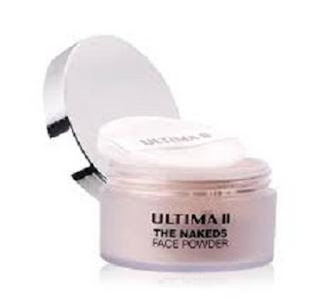 Bedak Ultima II Nakeds Face Powder