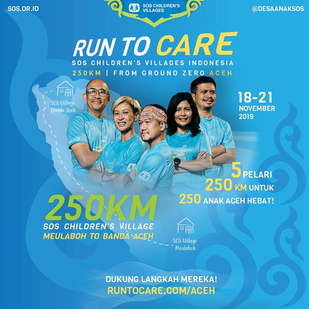 Run To Care - Aceh • 2019