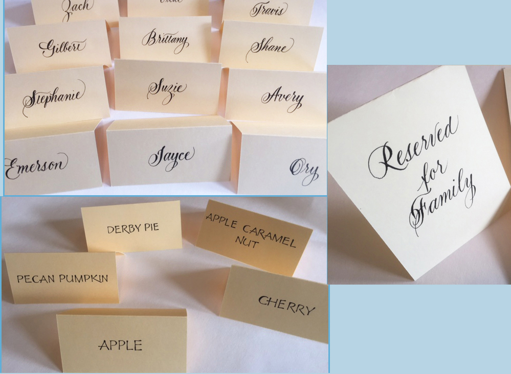 Wedding Etiquette Small Cards Can Help Inform Guests Easily