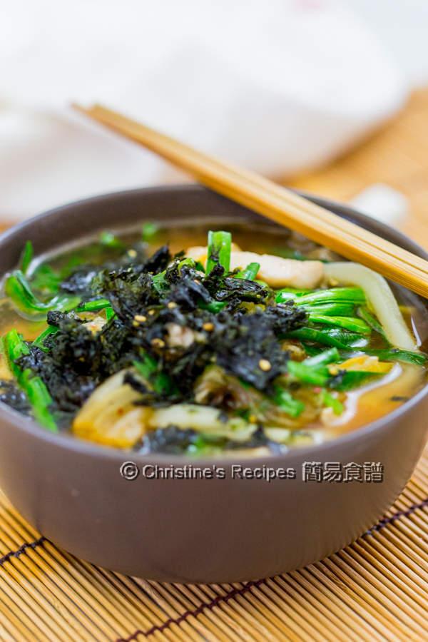 Kimchi Chicken Udon Soup01