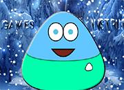 Pou Ice Adventure juego