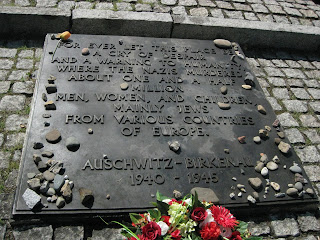 Memorial plaque for the victims