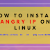 how to install angry IP on linux