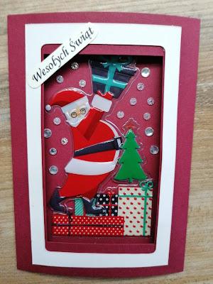 Karka Boże Narodzenie Mikołaj