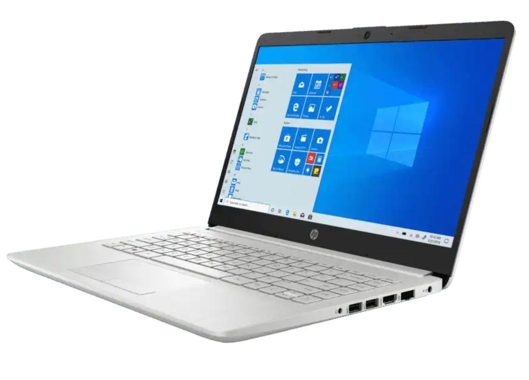 HP 14S DK10122AU, Laptop Bertenaga Athlon Gold 3150U untuk Pelajar
