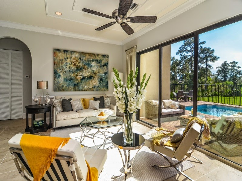 Decorating Cents: Get The Look: Treasure Coast Living Room