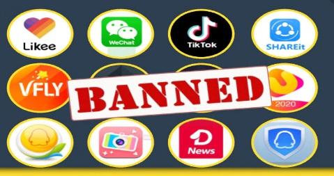 मोदी सरकार ने चीनी को दिया बड़ा झटका, Uc News, TikTok, Helo App सहित 59 एप को किया बैन