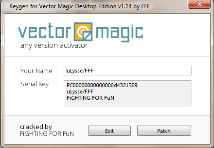 vector magic crack 1.20 + keygen
