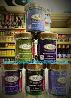Choice 15g powder jars at Pars Market Columbia Howard County Maryland 21045