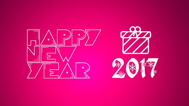 Happy New Year 2017 HD Wallpaper 54
